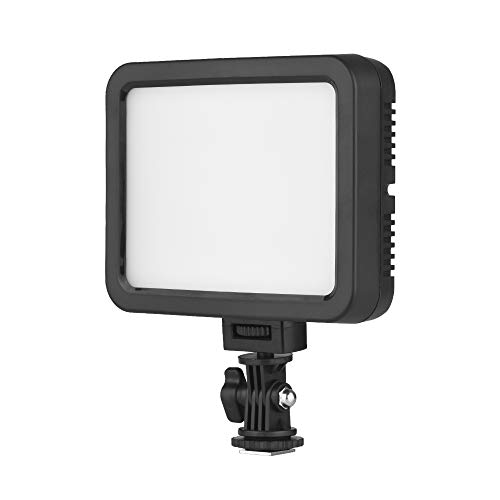 Docooler Color Video Light White+RGB Photography Dimmable Fill Light 360 3200K-5700K Ra95 1500 Lumens Compatible with Canon Nikon DSLR Camera Camcorder