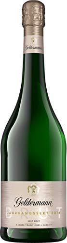 Geldermann Sekt Brut - Jahrgang 2016 (1 x 0,75l) – ein Jahrgangssekt der Extra-Klasse – 3 Jahre in traditioneller Flaschengärung gereift
