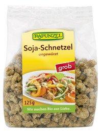 Rapunzel Bio Soja Schnetzel grob, 4er Pack (4 x 125g) - BIO
