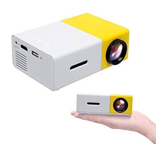 Shivent Portable Multimedia HD Mini LED Wireless PC/VGA/USB/AV/HDMI 1080P 800x480 Resolution Projector