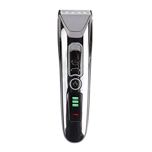 XFSE Coupeuse de Cheveux Portable USB De Charge Tondeuse Électrique Réglable Ménage Affichage Power Man Autoassistance Set Tondeuse À Cheveux