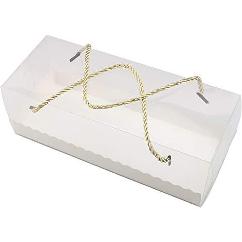 ケーキボックス ロールケーキケース パン 製菓 お菓子 ケーキ 作りに ケーキボックス プロ仕様 業務用