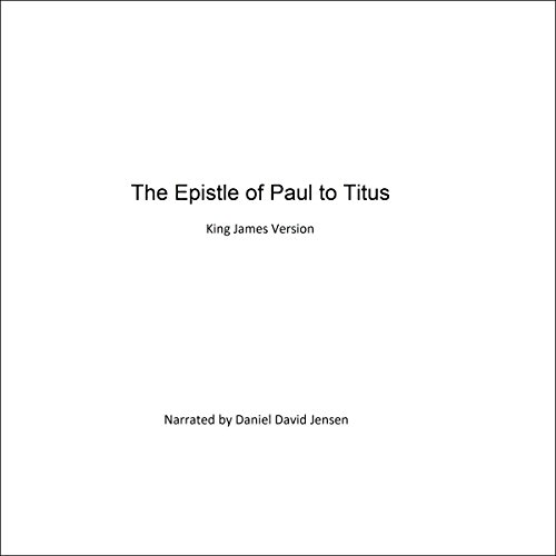 The Epistle of Paul to Titus audiobook cover art