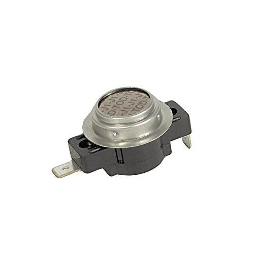 Europart 10002866 Klixon Öffner Temperaturbegrenzer Thermostat Sicherheitsthermostat 140°C Wäschetrockner Trockner Trocknerautomat passend wie Miele 6671890 auch Quelle