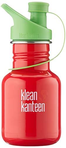 Klean Kanteen Erwachsene Classic mit Sport Cap 3.0 Trinkflasche, Mineral Red, S
