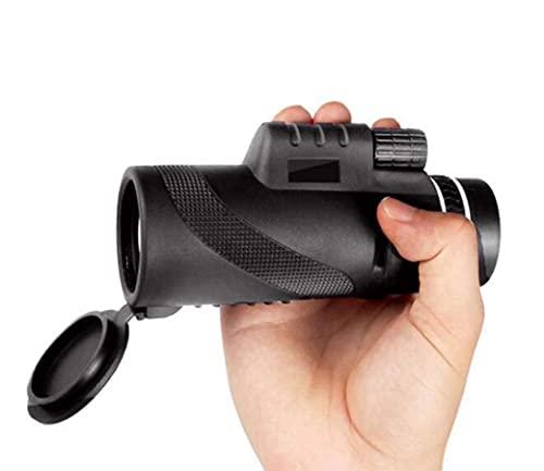 JIAWYJ Teleskop / 40x60 Monokularer Hochleistung, echte Vergrößerung 12x Vision Support Handy-Kamera-Teleskop für Doppelfokus im Freien Sport/Commodity-Code: WXJ-508