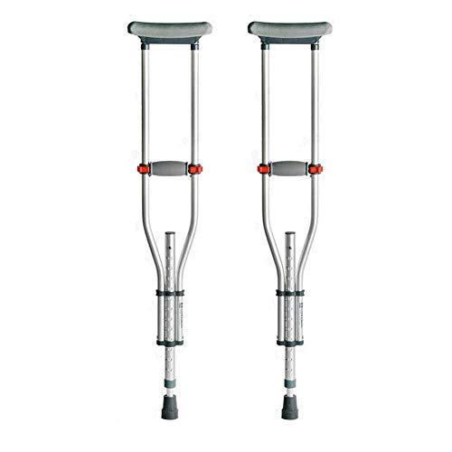 Crutch Achselkrücken, Stöcke mit Behinderung, alte Leute, rutschfestes Falten, einfaches Falten Krücken