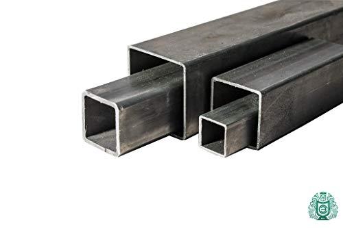 Quadratrohr Stahlrohr Hohlprofil /Ø 45x45x2 Vierkantrohr L/änge 1 Meter 1m = 100cm = 1000mm Rechteckrohr Konstruktionsrohr Stahl
