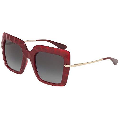 Dolce & Gabbana 0DG6111 Gafas de Sol, Transparente Bordeaux, 51 para Mujer