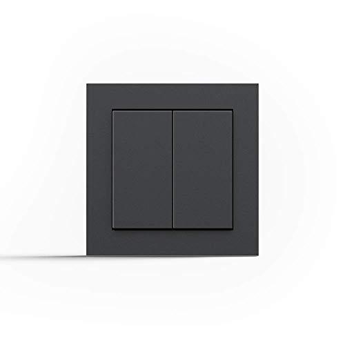 Friends of Hue Smart Switch: Kabelloser Philips Hue Schalter und Dimmer (Keine Batterien, Kein Aufladen, Exklusiv für Philips Hue Lichter), Weiß