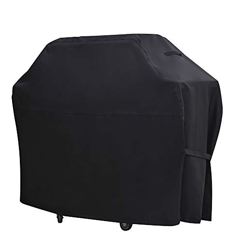 BBQ Grill Cover 67inch Large 600D Heavy Duty Waterproof Barbecue Gas Grill Cover UV and Fade Resistant Authentic Oxford Material Fits Weber CharBroil Nexgrill Brinkmann Grills and More 67 inch