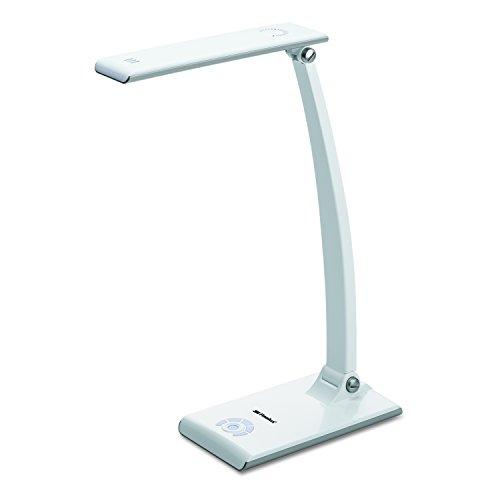 3m desk lamps 3M TL1200W 27 LED Light Array Polarizing Task Light, 4-3/8w x 16-3/4h, White