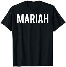 Mariah T Shirt - Cool new funny name fan cheap gift tee
