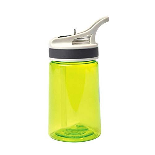 Botella de Agua Deportiva Taza de Paja portátil para Estudiantes Adecuada para Deportes al Aire Libre, Ciclismo, Ejercicio físico, IR a la Escuela y al Trabajo, fácil de Llevar (350 ml)
