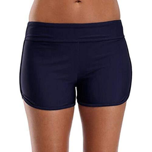 Dasongff Bañador corto para mujer, para verano, de secado rápido, deportivo