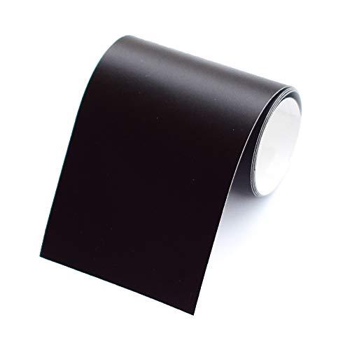 1 Rolle Bordüre selbstklebend, 4cm breit & 5m lang, für die Wand in Wohnzimmer & Schlafzimmer (schwarz)