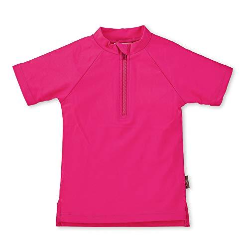 Sterntaler Kinder Kurzarm-Schwimmshirt, UV-Schutz 50+, Alter: 3 - 4 Jahre, Größe: 98/104, Farbe: Magenta
