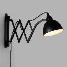 Black Metal Accordion Wall Sconce | World Market