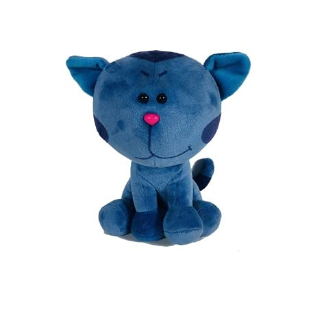XIAOLING Plush 20cm Blue & Magenta Beanbag Pink Dog Stuffed Animals Plush Toy For Kids Xmas Gift Toy (Color : 2)