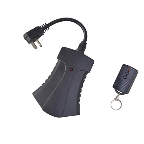 Woods 59748WD Outdoor Plug-In Switch with Wireless Remote Control, 3...