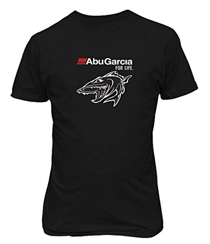 LPXUN Abu Garcia for Life Fish Fishing Reel Mujer/Women's Camiseta/T Shirt XX-Large