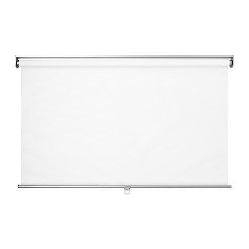 IKEA SKOGSKLÖVER Rollo in weiß; (100x195cm)