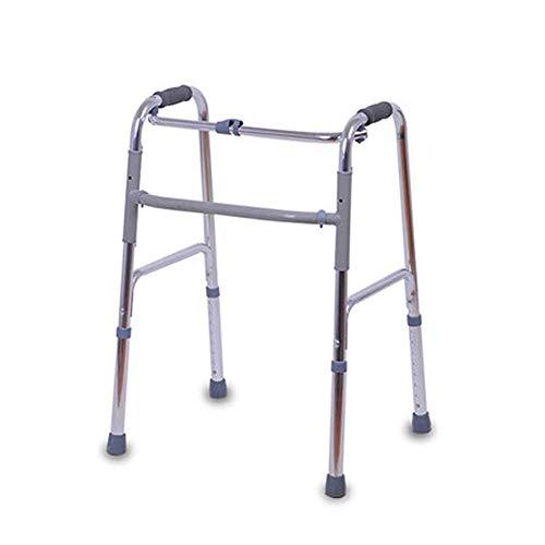 XCY Medizinische Instrumente Aluminiumlegierung Gehhilfe Folding Vier-Ecken-Hilfs Walker