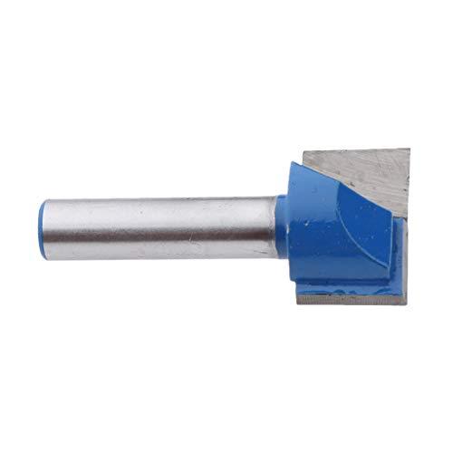 Nutfräser 8mm schaft Nutenfräser Holzfräser Fräser Nuter Freser Holzschneider für Trimmer, 16 Size auswählbar - 8x22mm
