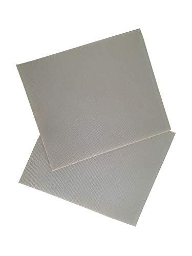 Campfrei 2 STK. Selbstklebendes Zelt Reparatur Patch grau Nylon Aufkleber Flicken