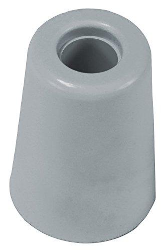 Brinox Anschlag Tür groß mit Schraube 5x3.7x3.7 cm grau