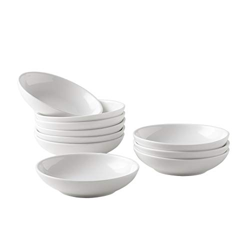 Dipping Sauce Dishes ,Soy Sauce Dipping Bowls, Dipping Bowls, Porcelain - 10 Packs, White