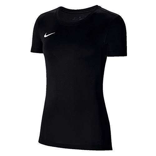 NILCO|#Nike Dry Park VII Maglia Maglia da Dona, Donna, Black/White, XL