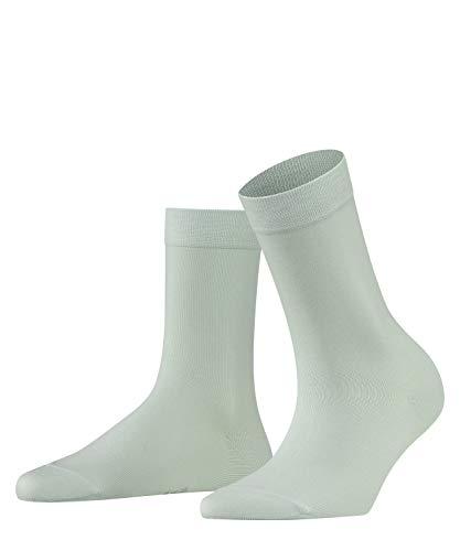 FALKE Damen Socken Cotton Touch - Baumwollmischung, 1 Paar, Grün (Lim Sorbet 7127), Größe: 35-38