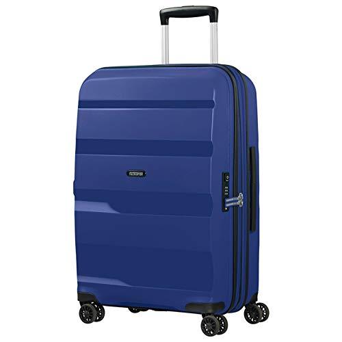 American Tourister Bon Air DLX Maleta con 4 Ruedas Azul Oscuro 66 cm