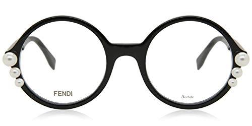 Fendi RIBBONS AND PEARLS FF 0298 BLACK 51/22/140 Damen Brillen