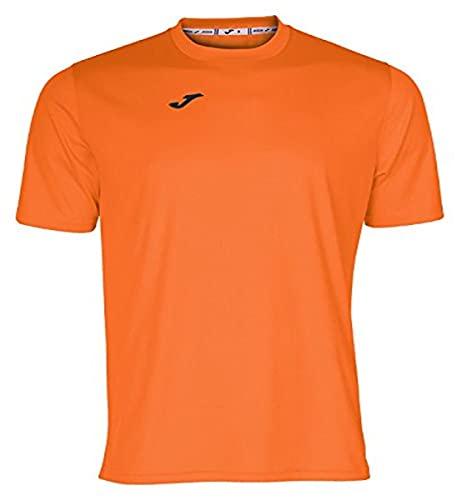 Joma Combi Camiseta Manga Corta, Hombre, Naranja, XXL