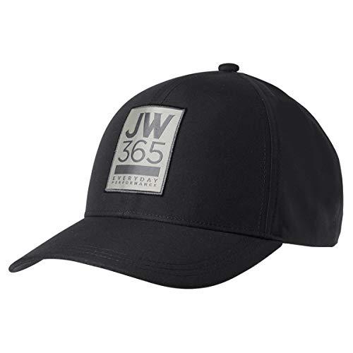 Jack Wolfskin 365 Baseball Cap Kappe, Black, ONE Size
