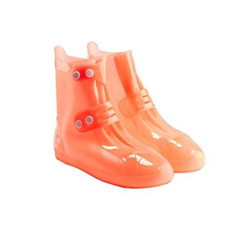 Copriscarpa impermeabile per bambini Copriscarpa impermeabile da 1 paio Copriscarpa impermeabile per bambini, Arancio
