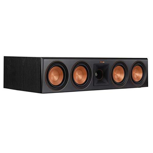 Klipsch RP-504C Center Channel Speaker (Ebony) (Renewed)