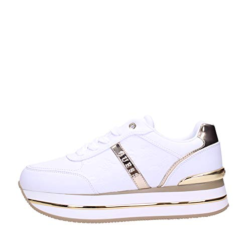 Sneakers Mujeres GUESS FL7DFEFAL12 White Cuero Sintético Blanco