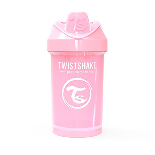 Twistshake 78273 Drinkbeker 300ml met fruit mixer, Pastelroze