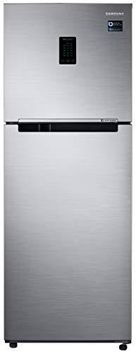 Samsung 324 L 2 Star with Inverter Double Door Refrigerator (RT34T4522S8/HL, Elegant Inox, Convertible)