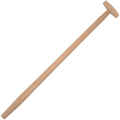 5x Spatenstiel Grabegabel Spatengabel Stiel Holzstiel T Griff Ø 38 mm 100 cm