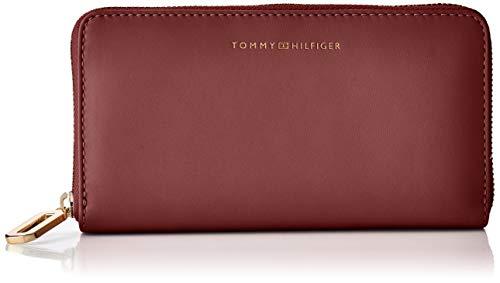 Tommy Hilfiger Damen Soft Turnlock Lrg Za Umhängetasche, Rot (Cabernet), 0x0x0cm