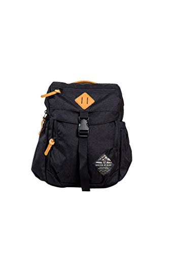 United By Blue - Unisex Bluff Utility Tablet Backpack - School, Work, Outdoors, Water Resistant   (Black)