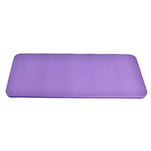 LRHYG Yogamatte Gymnastikmatte Fitnessmatte rutschfest Dicke 15mm NBR-Material Leicht Und Leicht Zu Tragen 60×25cm Für Fitness, Pilates Und Gymnastik (Color : Blue)