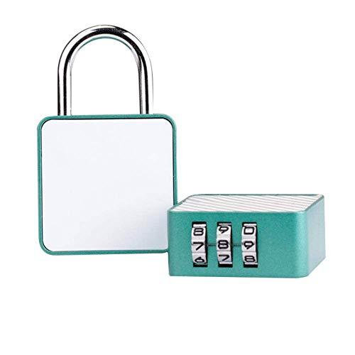 Padlock Combination Lock Portable Travel Luggage Lock Cabinet Door Lock Locker Storage Lock