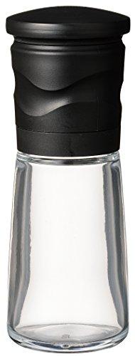 京セラ ミル 90ml セラミック スパイス 結晶塩 粗さ調節 分解洗浄 ブラック CM-15NBK-FP