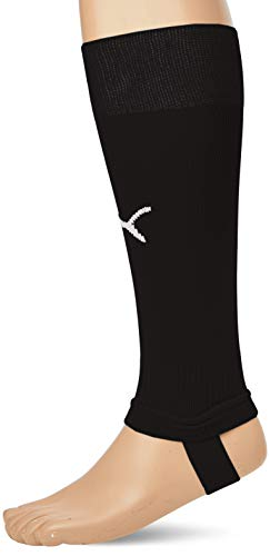 PUMA Herren Team LIGA Stirrup Socks CORE Stutzen, Black White, 2