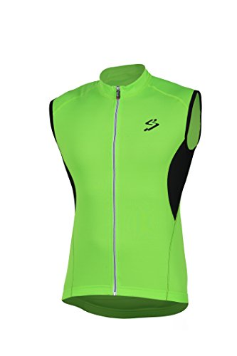 Spiuk Anatomic S/M Maillot, Hombre, Verde